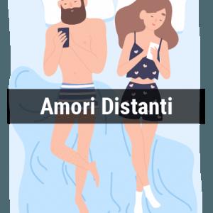 Il 27% delle coppie intervistate afferma di dormire in questo modo. In una situazione del genere si evidenzia una certa distanza nella coppia, dovuta a problemi interni o a situazioni esterne.